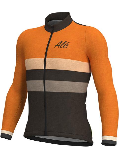 Alé Cycling Classic Vintage LS Jersey Men orange